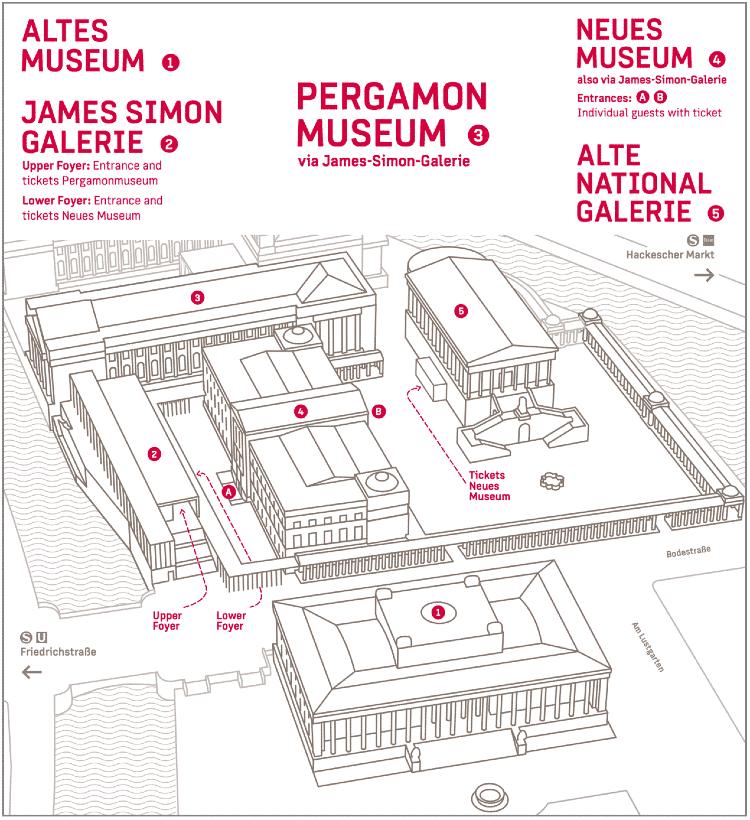 Neues Museum entrance