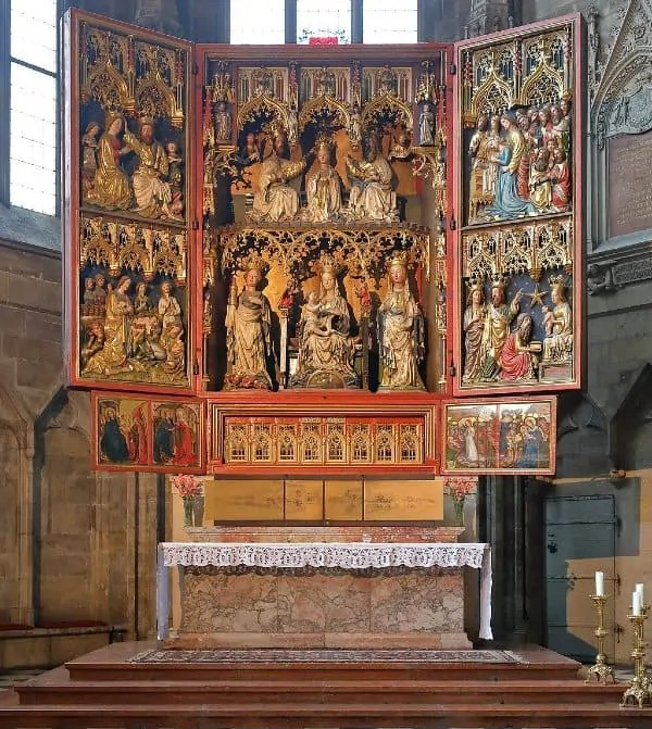 Wiener-Neustadter Altar at St. Stephen's Cathedral