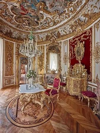 Dining Room at Linderhof Palace