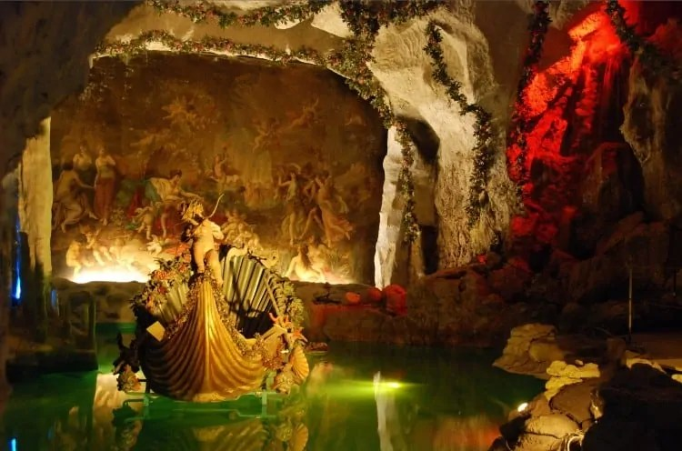 Venus grotto at Linderhof Palace