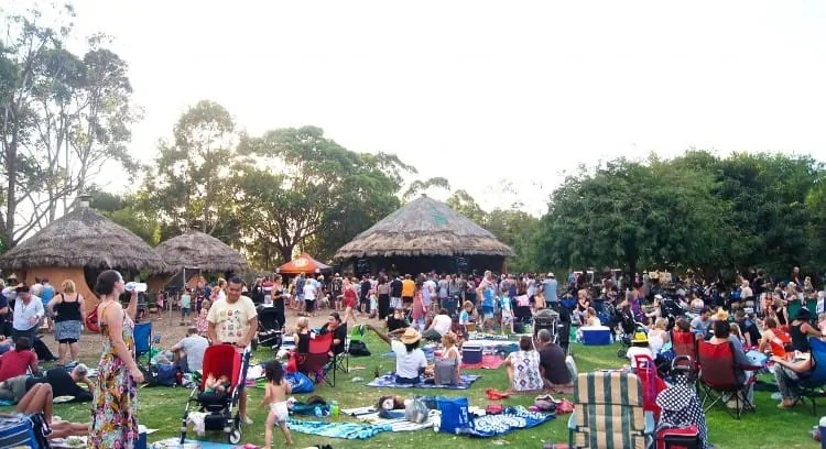 African village party at Werribee Zoo
