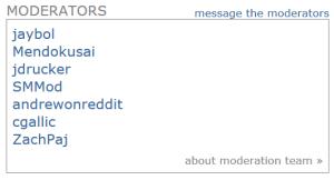 reddit-moderators