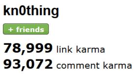 reddit-karma