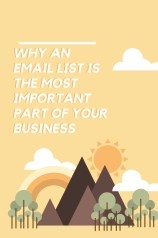 Why an Email List is the most important part of your business