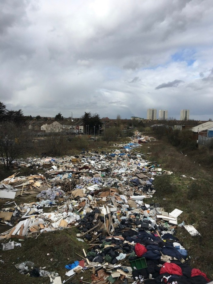Enfield-fly-tip