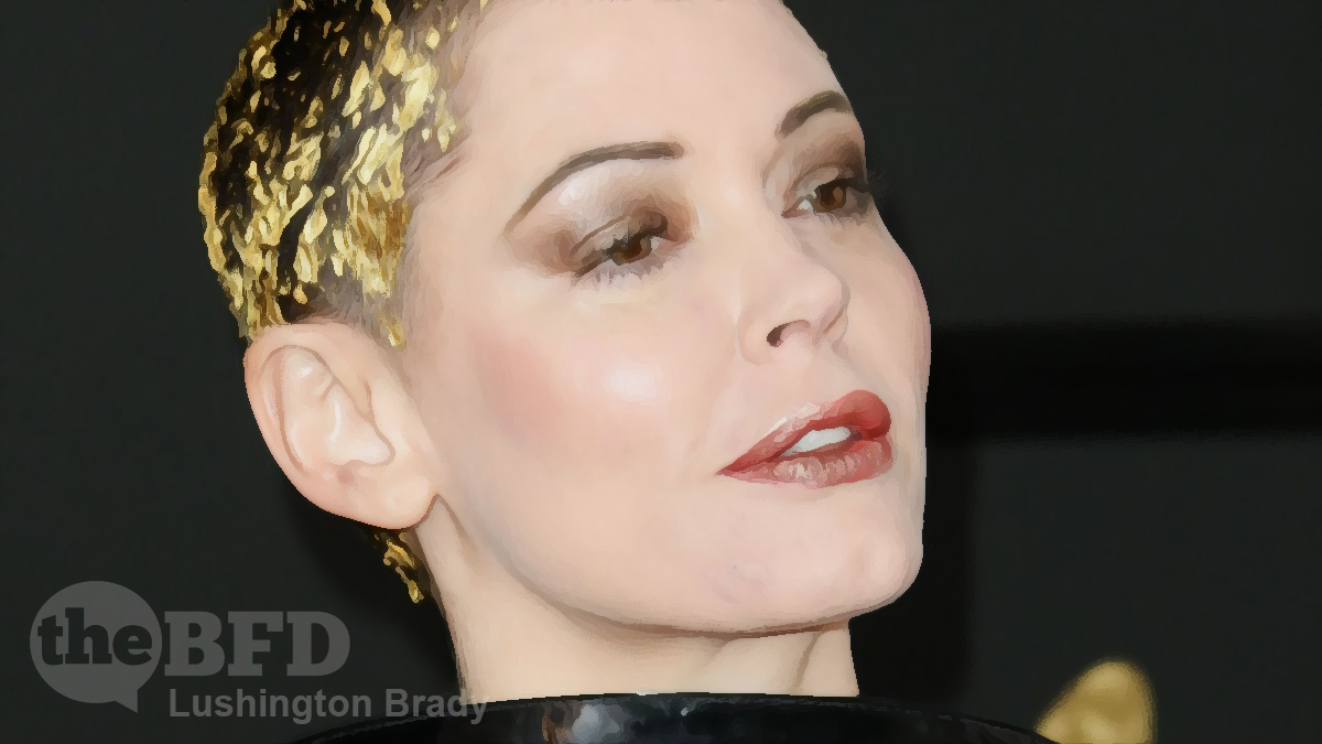 Let's Raise a Glass with Rose McGowan