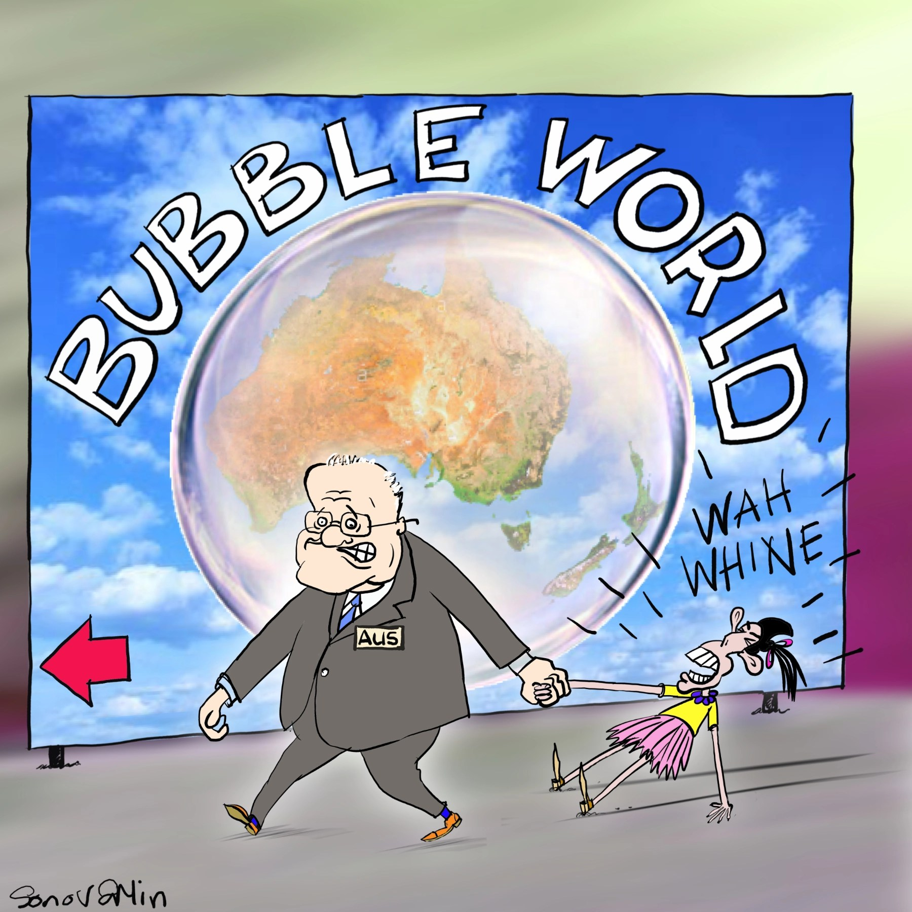 Free Taste: Cartoon by Sonovamin