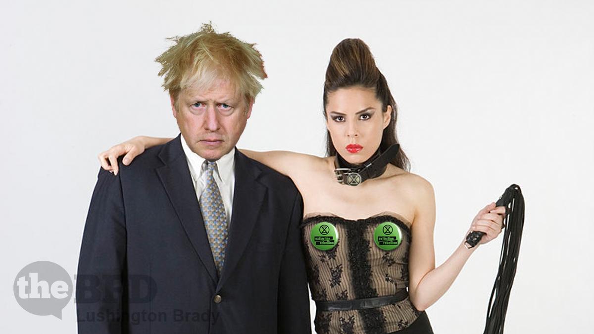 Boris Tries His <i>Vice Anglais</i> on Australia