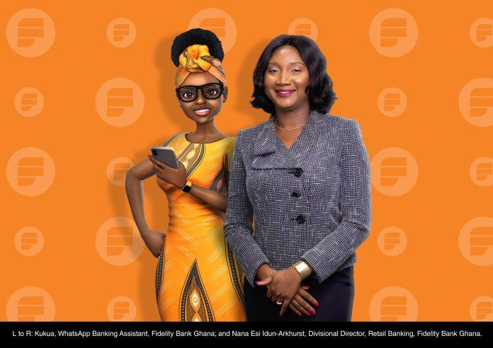 Fidelity Bank Unveils Kukua, its WhatsApp Banking Assistant
