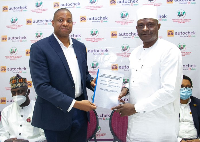 Autochek announces strategic digitisation partnership with Association of Motor Dealers of Nigeria