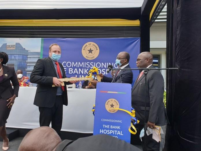 BoG inaugurates €85m 65-bed ultramodern hospital
