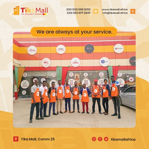 Tika Mall to help provide low pricing of construction materials