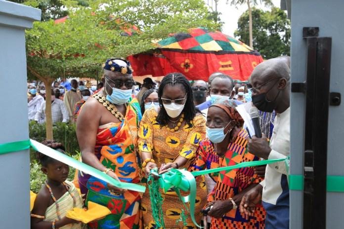 Akim – Bieni gets Community Library & ICT Centre