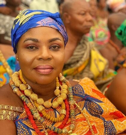 Queen Mother of Lashibi Traditional Area preaches peace and love