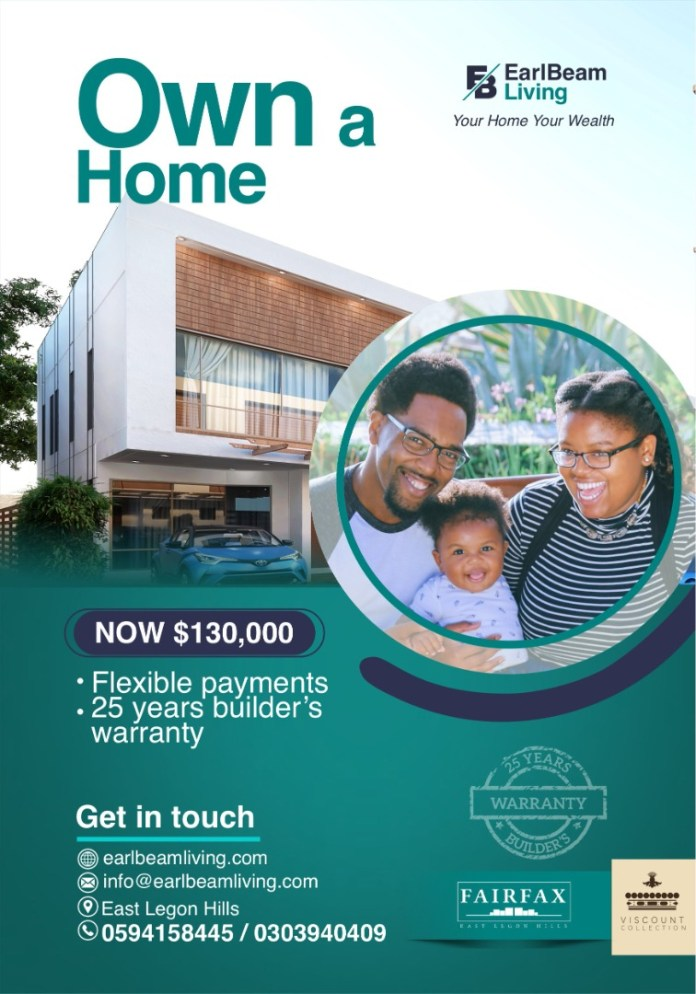 Fairfax Community Offers The Most Affordable Homes At East Legon Hills
