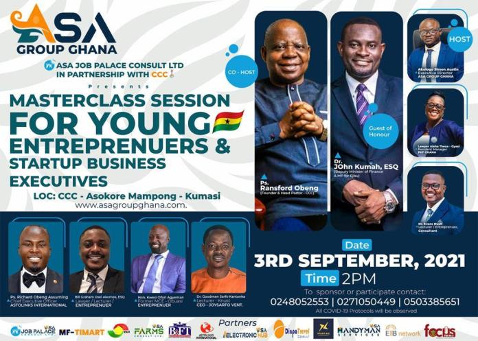 All set for masterclass session for young entrepreneurs