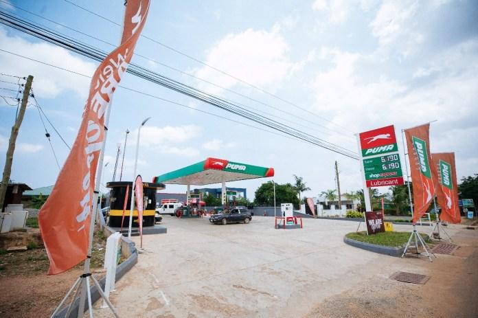 Puma Energy opens on Pantang Road