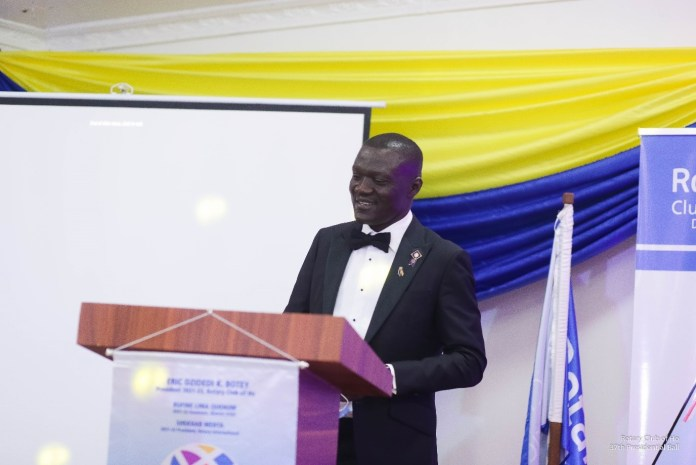 Make lives better in the communities – FBNBank MD tells Rotary Club