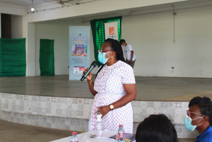 Mentoring session held at St Bernadette School in Accra