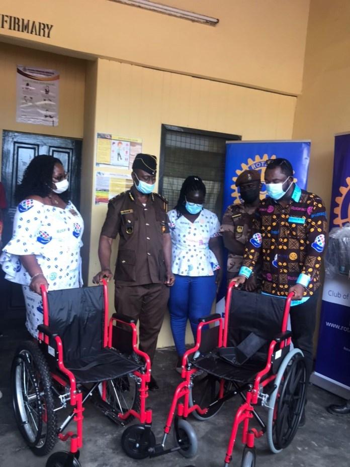 Rotary Clubs refurbish Ankaful Prison Annex Infirmary
