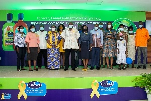 """'Because We Care"""" campaign: PZ Cussons to raise GHC 250,000 to fight childhood cancers"""