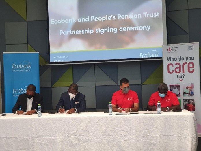 People's Pension Trust, Ecobank join hands to reach informal sector