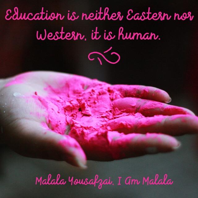 Quote by Malala Yousafzai from I Am Malala