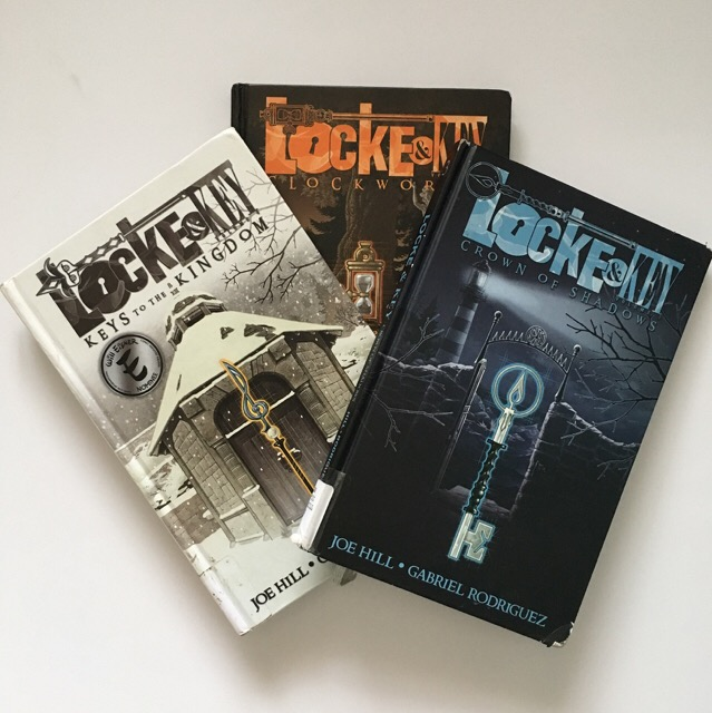 Graphic Novel Review: Locke & Key series by Joe Hill and Gabriel Rodriguez