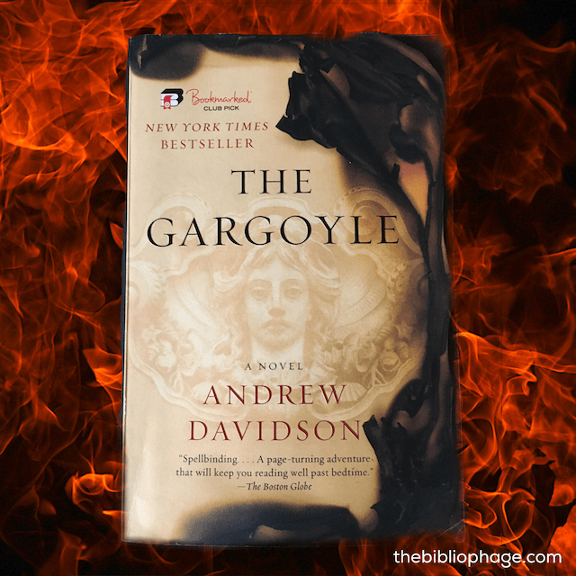Book Review: The Gargoyle by Andrew Davidson
