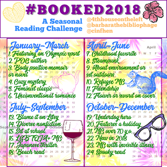 #Booked2018: A Seasonal Reading Challenge