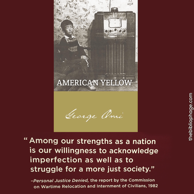 Book Review: American Yellow by George Omi