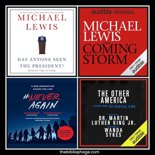 Book Reviews: Four Short Audiobooks