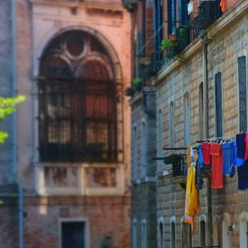 Venice laundry (this could fill a whole book in itself)