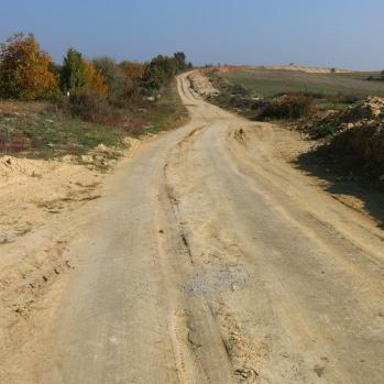 Leaving Kirklareli trickier than expected - though roads generally far better here than in Turkey.