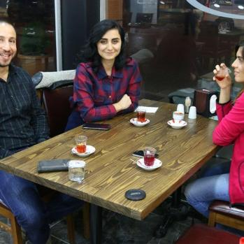 My host in Vize and his friends, treating me to more tea and kebabs. If I never leave this country it will be too soon.