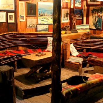 The lodge of the Zelenkovac Ecological Movement, high up in the Bosnian hills, owned by artist Boro Jankovic. B&B, art gallery, eco-centre, jazz festival, hippy retreat, nightclub... anything you'd like it to be. Truly a salve for the soul.