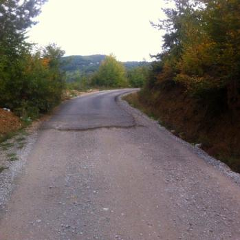 There's a definite tarmac shortage in Montenegro and Albania.