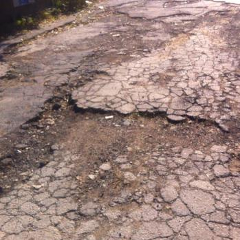 Really time to fix those roads, Bulgaria. Blimey.
