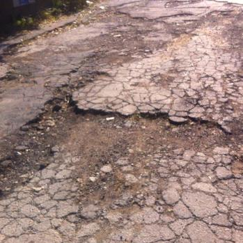 Really time to fix those roads, Bulgaria. Blimey.