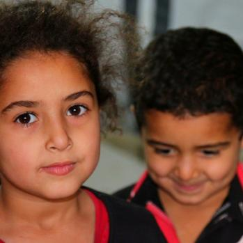 They left Syria as there were 'always bombs and rockets overhead and no place to go'.