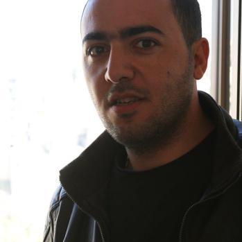 My first Amman host, who is planning a bummel of his own soon.