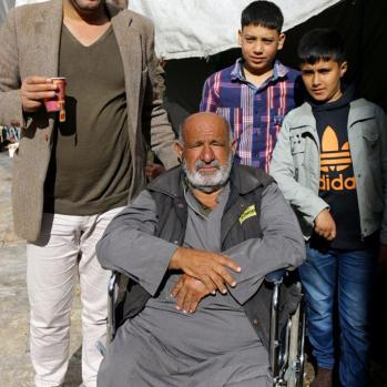41-year-old Syrian man who fled Damascus two years ago with his three young children aged six, five and two months. Plans to fly to Algeria and travel overland to Tunisia and Libya, where he will board a boat to Italy. Currently works in the Amman market selling mobile phones.