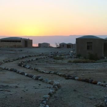 Living sky above Dead Sea.