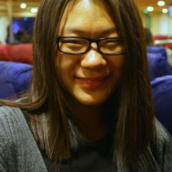 The only other laydee on board: a 17-yr-old backpacker from China. A brave soul!