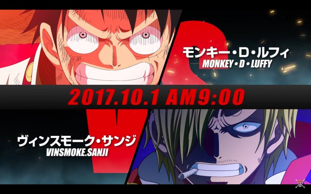 Luffy VS Sanji Visual