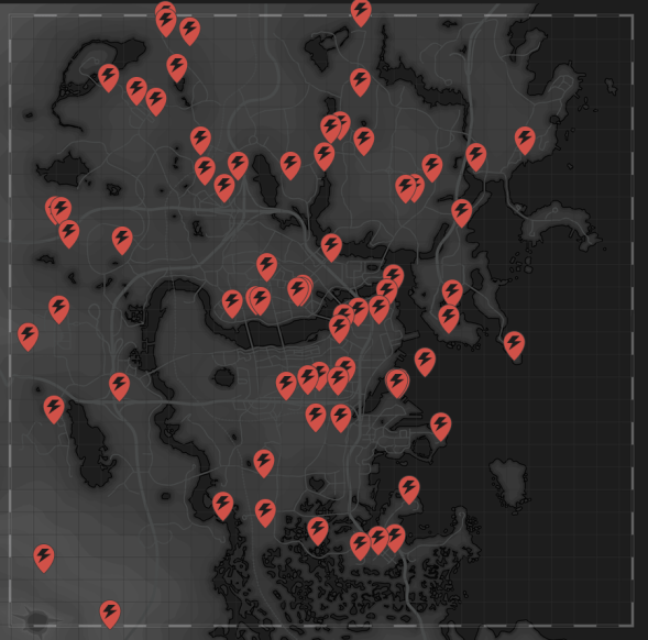 Fusion core Fallout 4 Map Locations