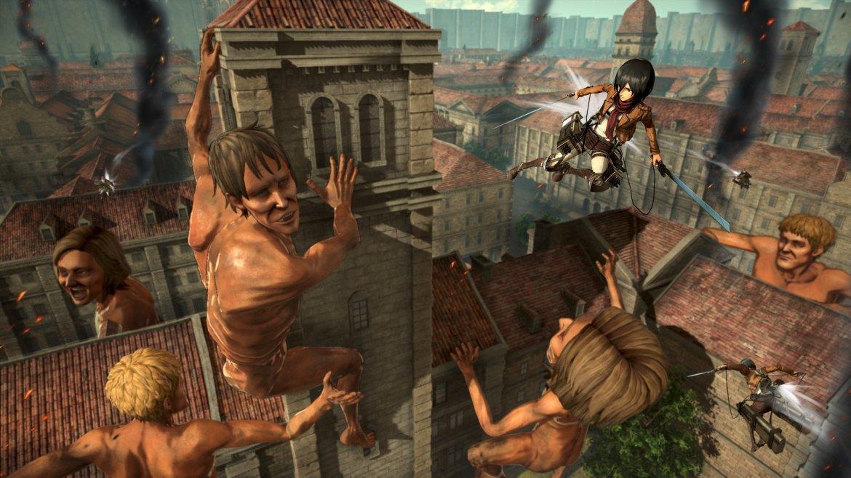 Attack on Titan 2 new trailer - mikasa