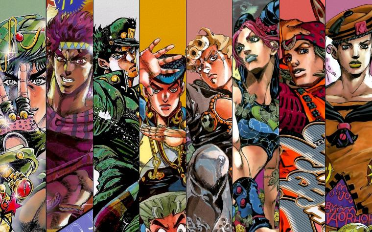 All JoJo's Poster 5 Old School Series