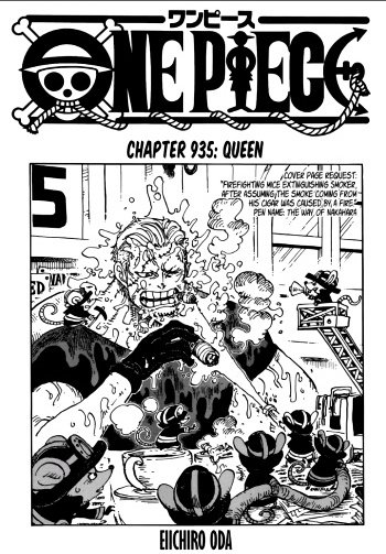One Piece Chapter 935 Review - A New Powerful Enemy Appears