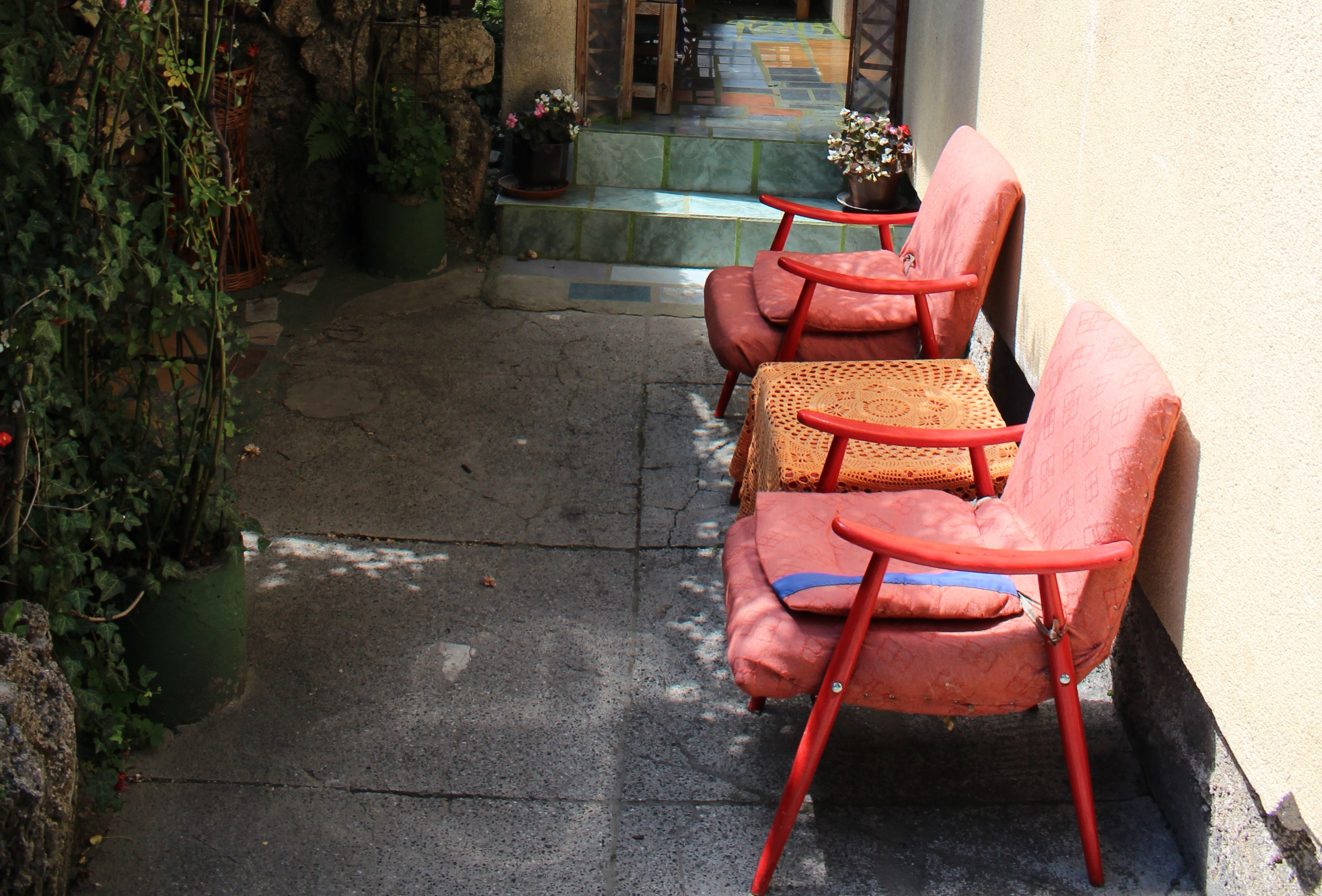 red chairs sarajevo recovering outdoor bosnias shades of the big american